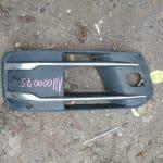 Решетка бампера правая Q7 4M